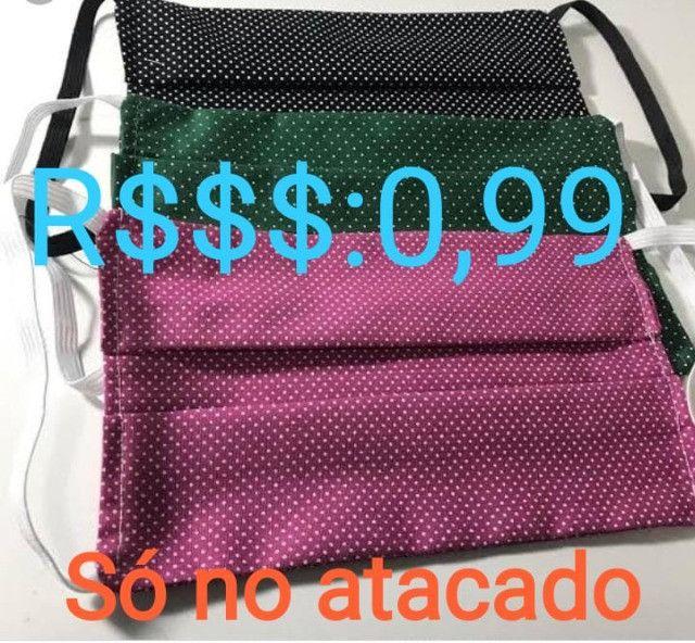 Venda de Máscaras no Atacado Super Promoção - R$0,99 centavos - Foto 3