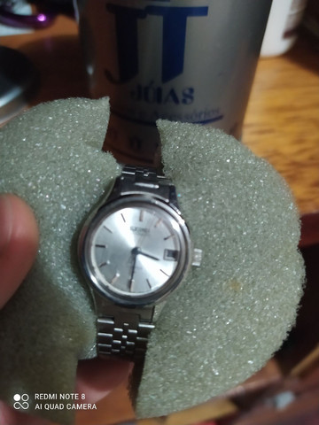Relógio Seiko feminino automatico a prova d água