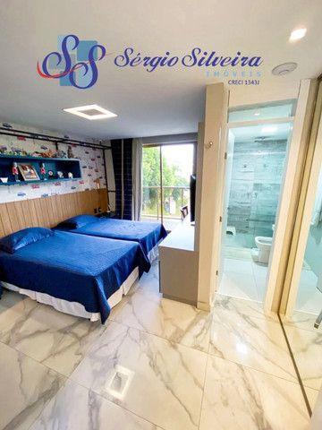 Casa no Alphaville Fortaleza mobiliada e climatizada, com piscina privativa, alto padrão - Foto 15