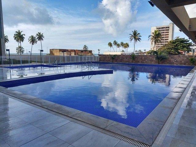 Apartamento beira mar a venda em Maceió com 250 metros quadrados com 4 suítes Ed. Gênova R - Foto 12