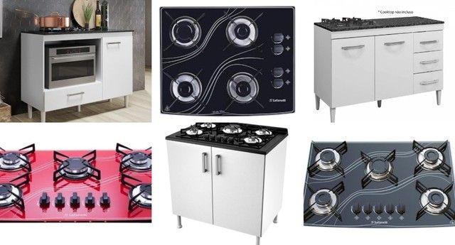 Fogão, balcão e cooktop varios modelos e cores (mais informações chamar no Whatsapp)