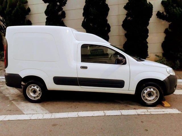 Fiat Fiorino Furgão 1.4 Flex Branco Basico Km Baixa Tem Basica e Completa - Foto 6