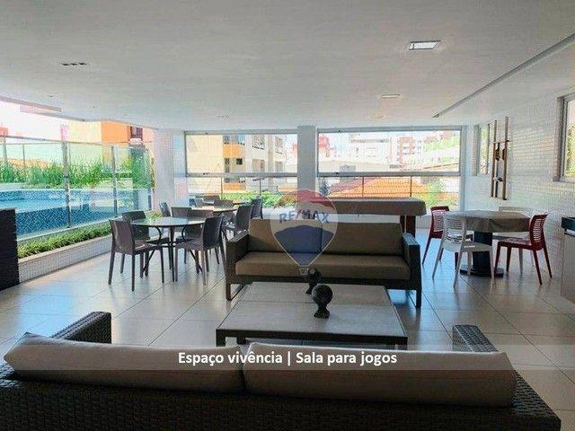 Aluga ótimo apto, 2 suítes, posição sul, por R$ 2.400 Cabo Branco ? João Pessoa/PB - Foto 17