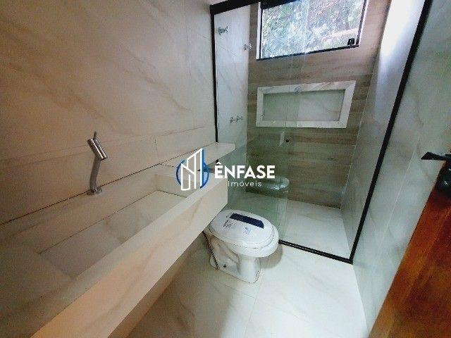 Casa moderna e com 03 quartos disponível para venda no bairro Fernão Dias em Igarapé - Foto 11