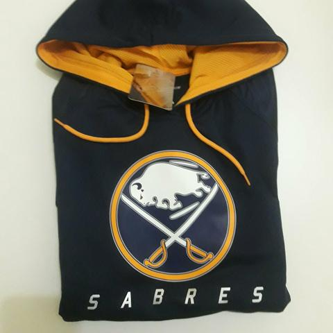 Blusa Majestic Athletic Buffalo Sabres