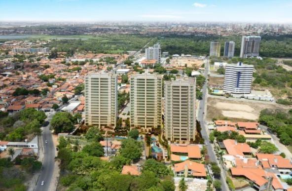 Apartamento 152,02m² Living Garden Residencial Guararapes