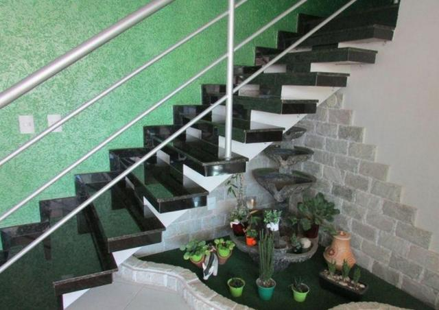 Samuel Pereira oferece: Casa Moderna Jardim Europa II 3 Suites Churrasqueira Piscina Porce - Foto 3