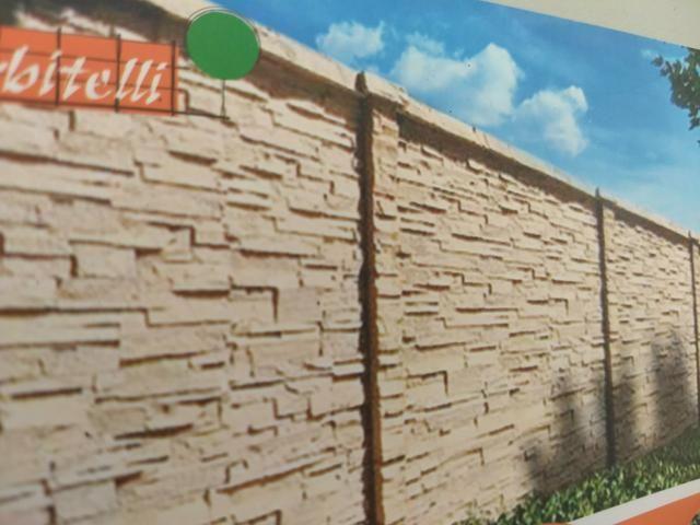Muros e placas pré moldados