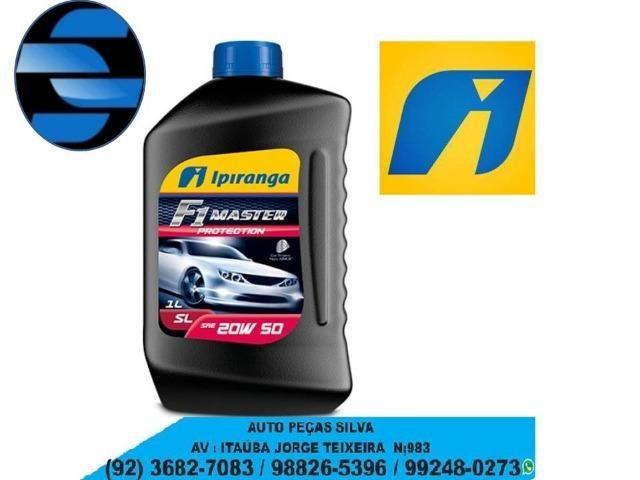 3 Litro de óleo Ipiranga 20w50 + Filtro de Óleo Para Troca Motor Fire Palio , Siena ,Strad
