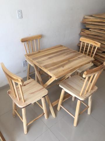 Mesa de madeira (ideal para bar e restaurante) novas - Foto 5
