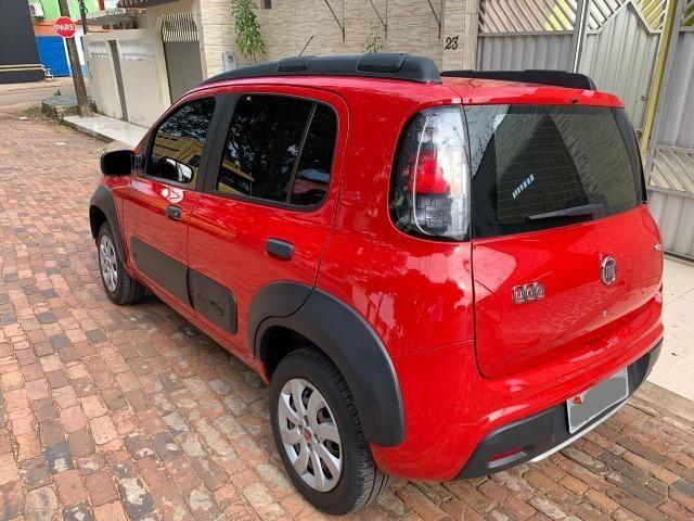 Lindo Fiat Novo Uno Way E 1.0 Flex 2017-2017, completo - Foto 5