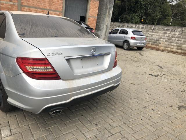 Sucata Mercedes C200 CGI 1.8 2014 - Foto 2