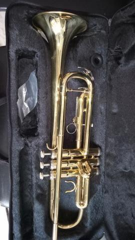 Trompete na caixa nunca usado - Foto 4