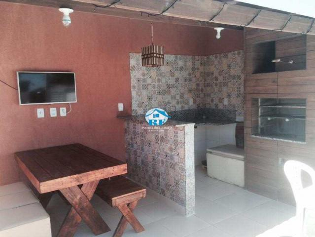 Casa de condomínio à venda com 3 dormitórios em Arembepe, Arembepe (camaçari) cod:142 - Foto 5