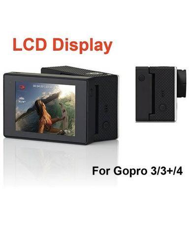 LCD BacPac Mostrar Visualizador de Monitor de tela traseira para GoPro Hero 4/3 + 3