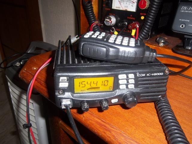 Radio icom icv 8000