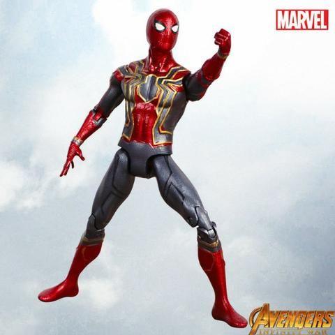 Boneco Homem Aranha 17cm Os Vingadores Marvel - Promoção!!! - Foto 4