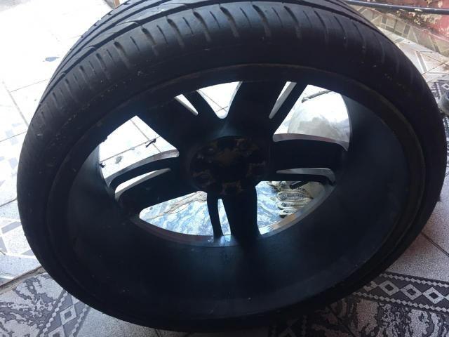 Vendo Rodao 20 com dois pneu novos e dois meia vida - Foto 4