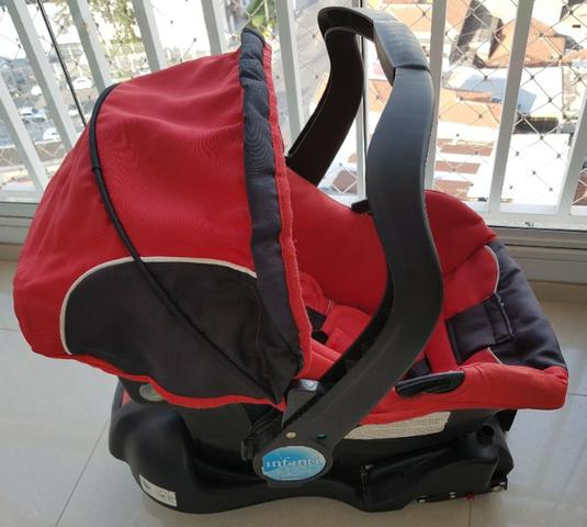 Carrinho + bebê conforto + base isofix Infanti - Foto 4
