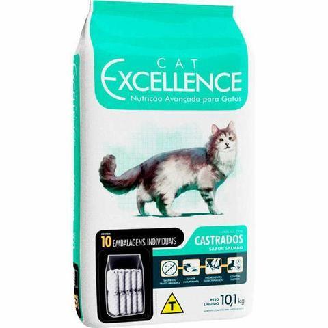 Ração Cat Excellence Adulto Castrados e Filhotes 15kg