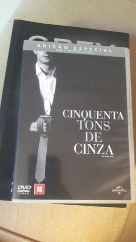 Dvd Filme + Disco Extras - Cinquenta Tons de Cinza original