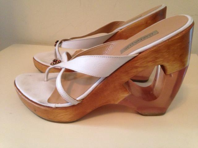 90ebd1aa2c Tamanco Branco 36 em madeira - Roupas e calçados - Vila Mariana