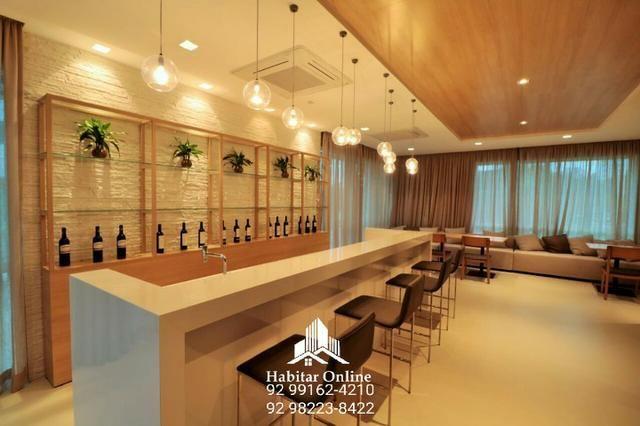 Atmosphere apartamento no Adrianópolis alto padrão na promoção - Foto 9