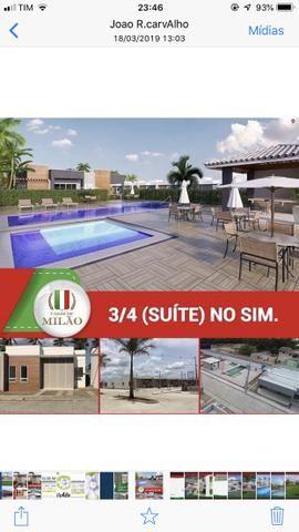 Ultimas unidade Casas de Milão 3-quartos c/Suíte;100%laje, Aceita FGTS, no bairro SIM - Foto 10
