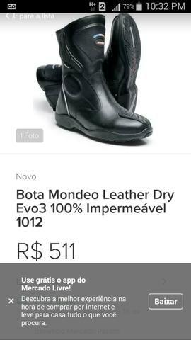 c681f5ce4b0 Bota mondeo leather dry evo3 100% couro