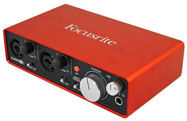 Focusrite Scarlett 2i2 Interface De Áudio Usb 24-bit 2 Gnd