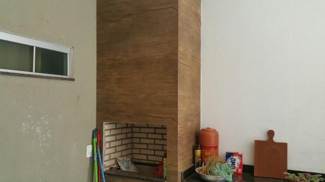 Casa 3quartos laje suite churrasqueira rua 6 Vicente Pires condomínio fechado lote 200m2 - Foto 12