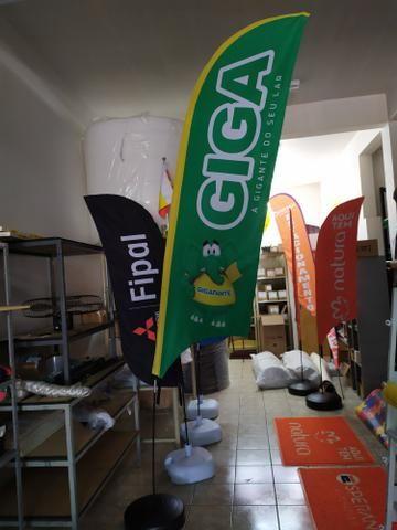 Wind Banner ou FLAG BANNER - Foto 5