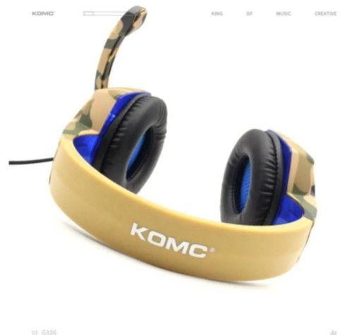 Fone De Ouvido Gaming Para Pc- Komc G305 - Foto 3