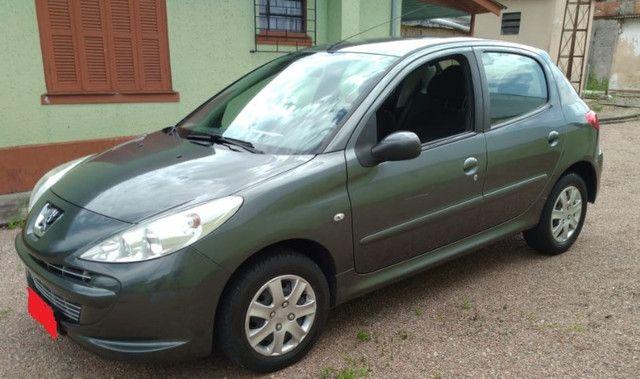 Peugeot 2012 - 1.4 XR - Flex - Ar -Direção - Cor Cinza Chumbo - Foto 5