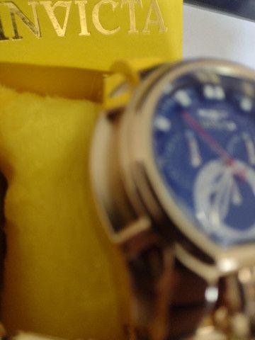 Invicta Zeus Relógio Masculino, Grátis Corrente e Pingente  - Foto 2