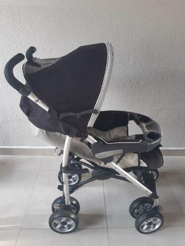 Vendo Carrinho e Bebê Conforto Chicco Trevi - Foto 3
