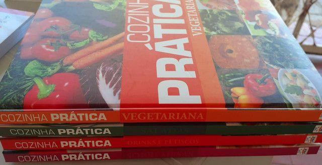 Kit de livros culinários da editora Mundial - Foto 4
