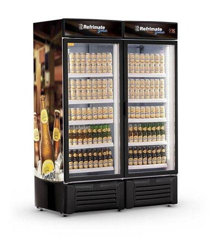 Cervejeira expositora 2 portas 1300 litros (Guilherme
