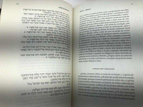 A Torá Comentada Brian Kibuuka Edição Bilíngue Hebraico - Foto 5