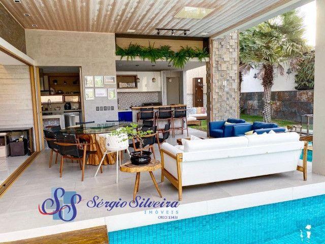 Casa no Alphaville Fortaleza mobiliada e climatizada, com piscina privativa, alto padrão - Foto 18