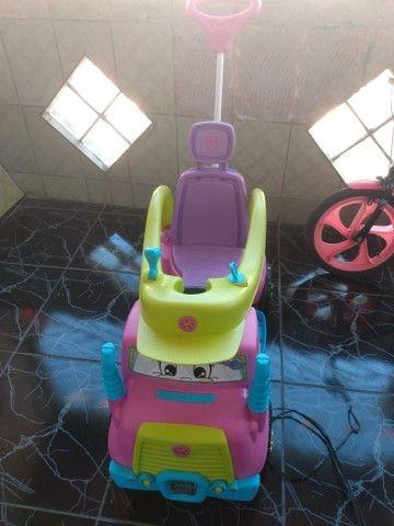 Carrinho e bicicleta infantil  - Foto 4