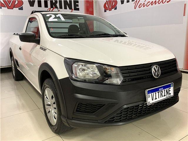 Volkswagen Saveiro 2021 1.6 msi robust cs 8v flex 2p manual - Foto 2