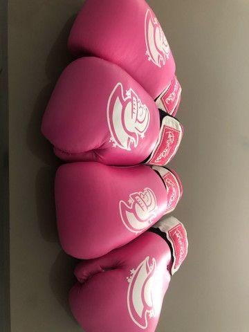 Luvas de boxe/ MuayThay 10oz  - Foto 3