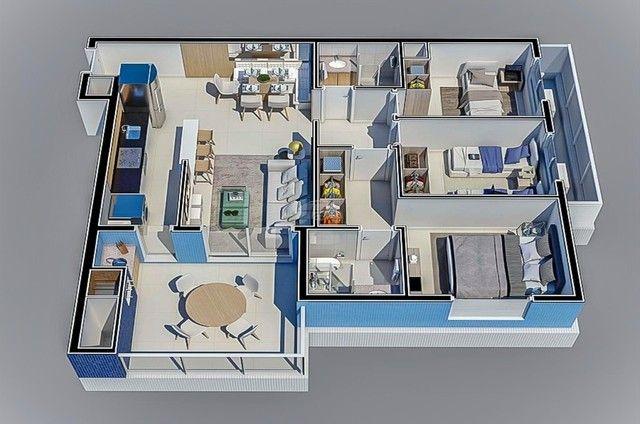 Apartamento à venda com 3 dormitórios em Caioba, Matinhos cod:155296 - Foto 19