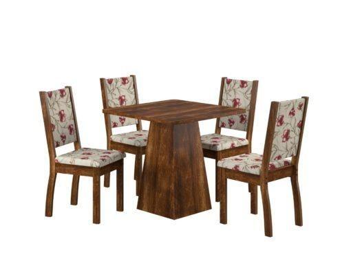 Mesa com 4 Cadeiras A467 - Spazio