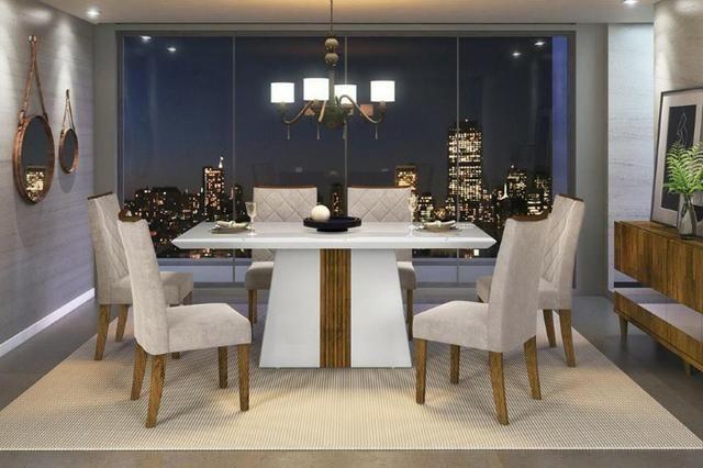 Mesa com 6 Cadeiras A471 - Itália
