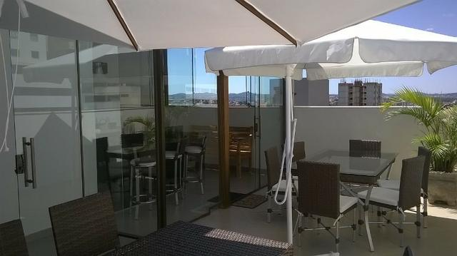 Castelo - Cobertura individual 201 m², 3 quartos excelentes e 5 vagas cobertas