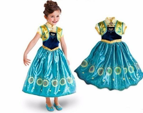 Fantasia Anna Frozen Vestido