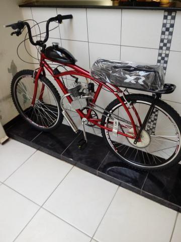 Tenho 20 bike motorizada 80cc, com banco de mobilete
