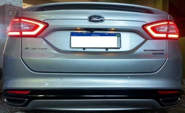 Ford Fusion Turbo Ecoboost Prata - Foto 6